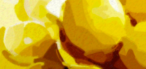 lemons art all yellow