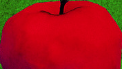 apple pop art single half