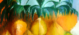 pineapple fat art