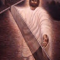 Jesus holding the cross in one hand, it is the resurrected Jesus. He is reaching out His hand to help.