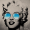 marylin monroe aviator glasses